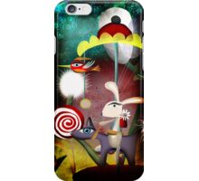 Merry go round iPhone Case/Skin