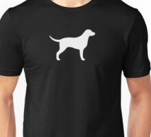 Curly Coated Retriever Silhouette(s) Unisex T-Shirt