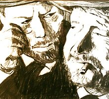 Vincent and Douglas by JolanteHesse