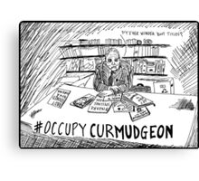 Andy Rooney RIP Occupy Curmudgeon Canvas Print