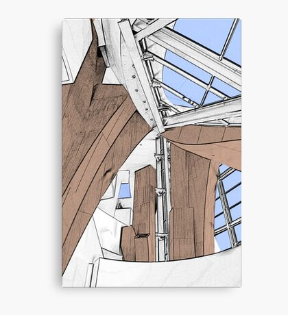 Interior - Walt Disney Concert Hall Canvas Print