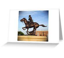 Army Cavalry Greeting Card