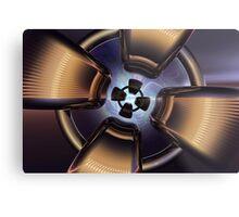 Rotor Reflection Metal Print
