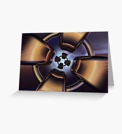 Rotor Reflection Greeting Card