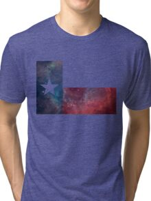 Texas Flag Nebula Tri-blend T-Shirt