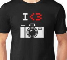 I Love Photography Camera Unisex T-Shirt