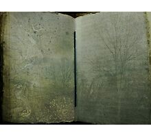 Book of Trees Photographic Print