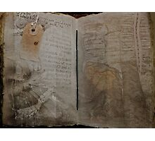Book of Ghosts Photographic Print