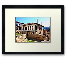 Traditional old house at Kastoria (Makedonia, Greece) Framed Print