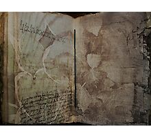 Book of Earth Photographic Print