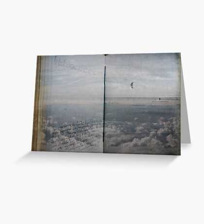 Book of Clouds Greeting Card