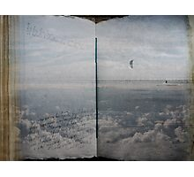 Book of Clouds Photographic Print