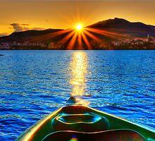 Canoe & Cayak through the Sun by Tania Koleska