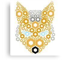 Shine Fox Canvas Print