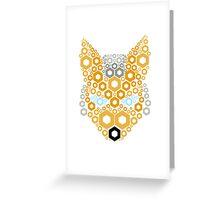 Shine Fox Greeting Card