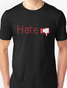 Hate Button  T-Shirt