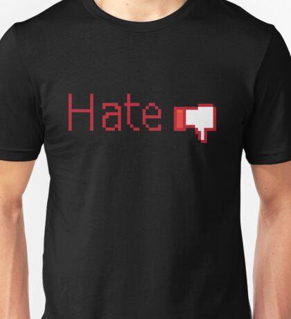 Hate Button  Unisex T-Shirt