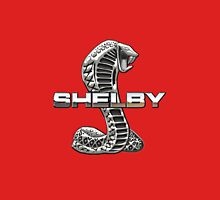 Shelby Cobra - 3D Badge on Red T-Shirt