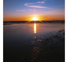 Propeller Sun Photographic Print