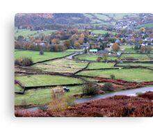 Derbyshire Dale Canvas Print