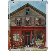 Full of baskets and history iPad Case/Skin