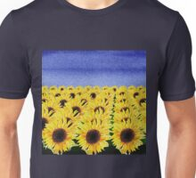 Sunflowers Field Unisex T-Shirt