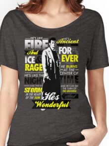 Fire and Ice and Rage  Women's Relaxed Fit T-Shirt
