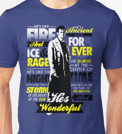 Fire and Ice and Rage  Unisex T-Shirt