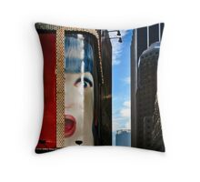 Isn't That Harvey There? Throw Pillow