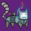 Astro Cat by Bobfleadip