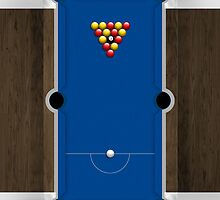 Mini Pool Table by Alisdair Binning