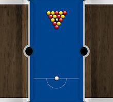 Mini Pool Table by Alisdair Binning