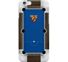 Mini Pool Table iPhone Case/Skin