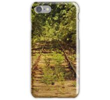 Old, Rusty Railroad Tracks iPhone 4 case iPhone Case/Skin