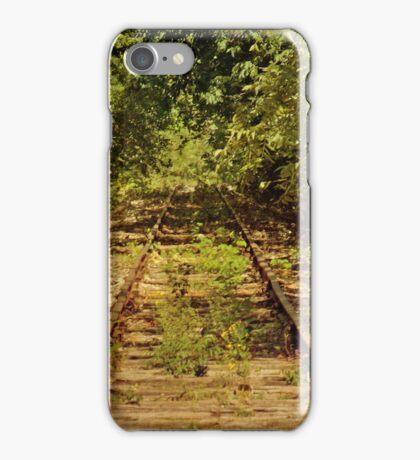 Old, Rusty Railroad Tracks iPhone 4 case iPhone Case/Skin