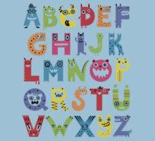Alphabet Monsters Kids Clothes