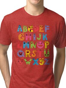Alphabet Monsters Tri-blend T-Shirt
