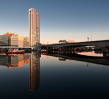 Lagan at the Obel by Alan McMorris