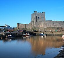 Carrickfergus Castle by BlairedVision