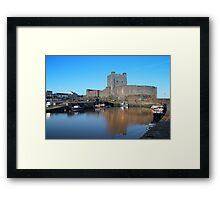 Carrickfergus Castle Framed Print