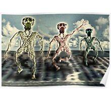 Moody Dancers Poster