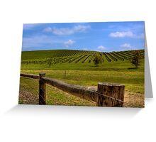 Nepenthe Vineyards - Hahndorf - Balhannah, The Adelaide Hills, SA Greeting Card