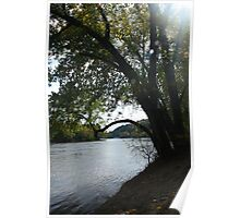 Fall in the Delaware Valley Poster