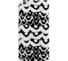 Finger Scales (white) iPhone Case/Skin