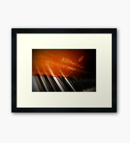 Let your fingers do the talking Framed Print