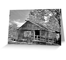 The Shearing Shed. Greeting Card