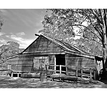 The Shearing Shed. Photographic Print