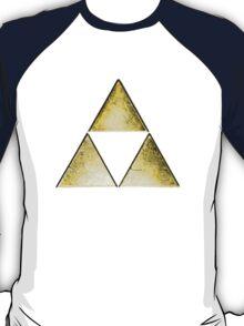 Force of three, golden version T-Shirt