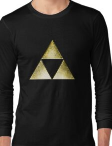 Force of three, golden version Long Sleeve T-Shirt