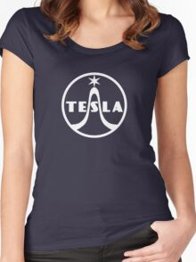Tesla Radio Company Women's Fitted Scoop T-Shirt